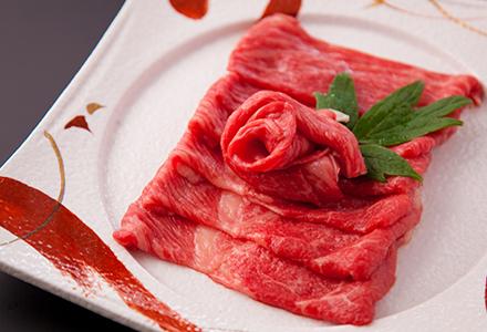 飛騨牛の中でも更に厳選されたA4ランク以上のお肉を提供